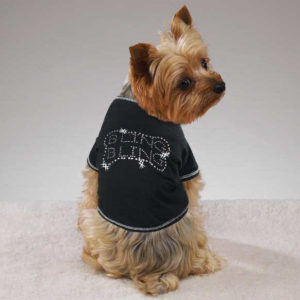 Bling, Bling Pet Tee Shirt