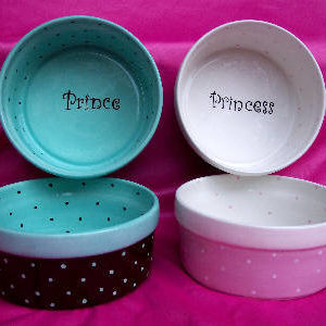 princess & prince food bowls