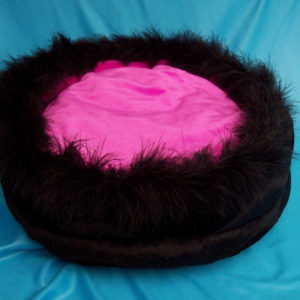Faux Mink Dog or Cat Pet Bed