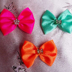 fancy pet show bows