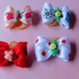 fancy flowered bows