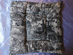 Toile Crate Pad