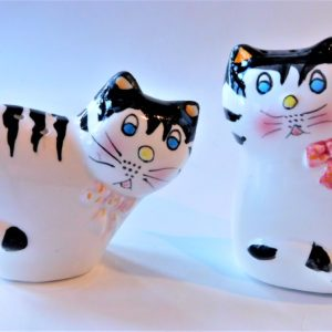 Striped Salt & Pepper Shaker Set