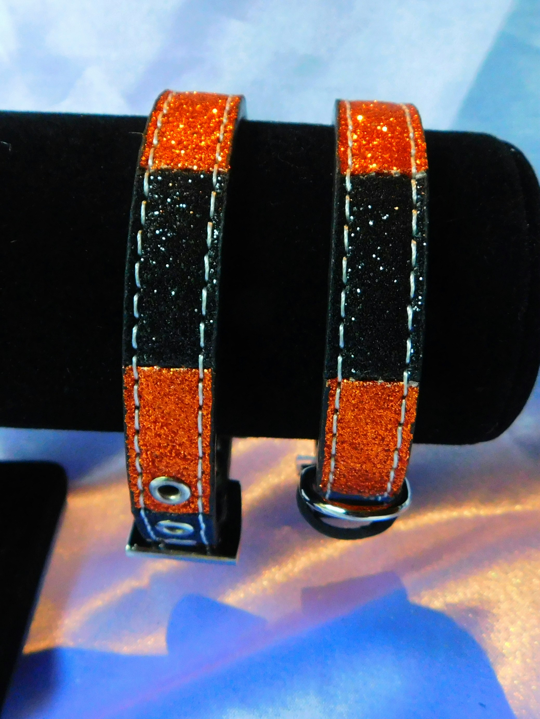 Halloween dog collars
