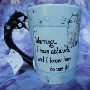 Cat Design Pet Mug