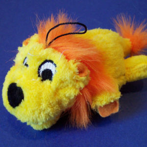 Plush Lion Pet Toy