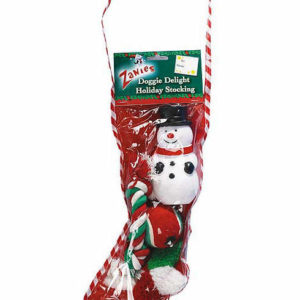 Holiday filled stocking for dogs