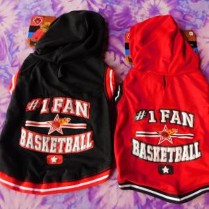 #1 Fan Basketball Pet Hoodie