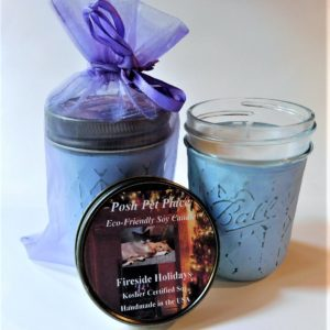 Eco friendly soy candles.