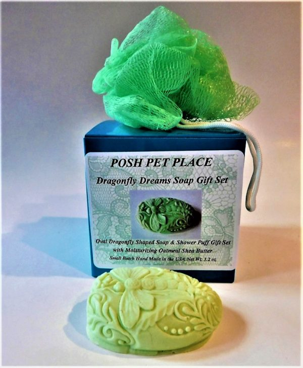 Dragonfly Dreams soap gift set