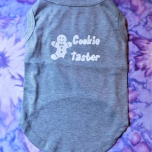 -Cookie Taster Dog T Shirt