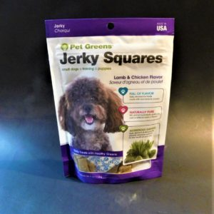 Yummy Pet Greens Small dog Jerky Squares