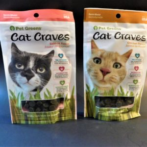 Pet Greens Cat Craves Cat Treats.