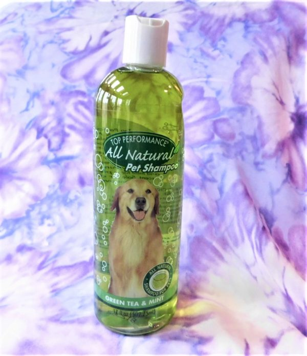 Top Performance Green Tea & Mint Pet Shampoo
