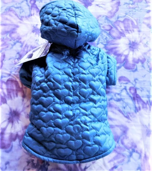 ZACK & ZOEY QUILTED HEART JACKET