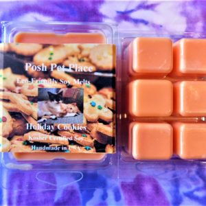 Holiday Cookies Soy Cube Wax Melts Cubes
