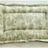Country French Toile Pet Bed